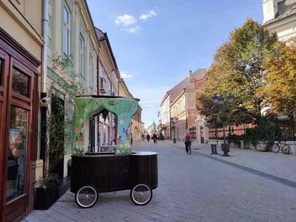 3 days in Belgrade Novi Sad streets