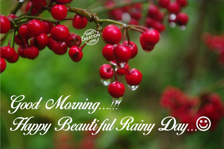 Gloomy Fall Wallpaper Good Morning Happy Beaautiful Rainy Day Smitcreation Com