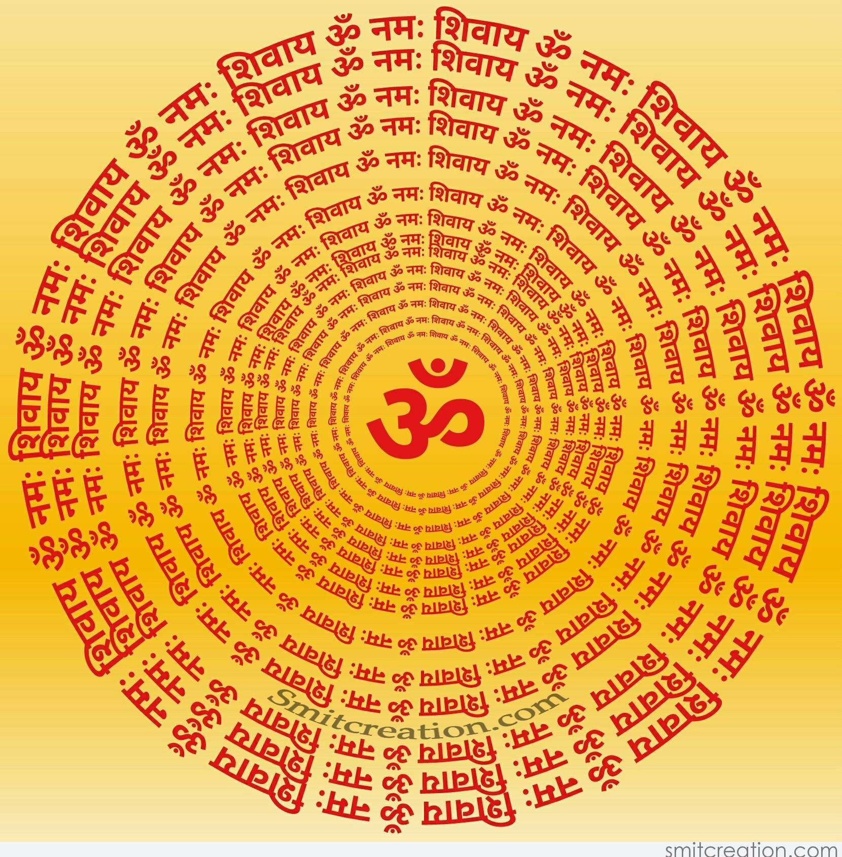 Shiva Animated Wallpaper Om Namah Shivay Mantra Smitcreation Com