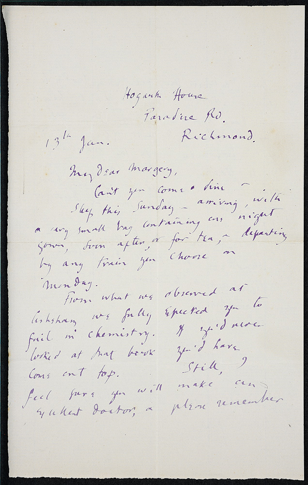 Woolf in the World: A Pen and a Press of Her Own: Case 8c
