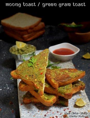 moong toast