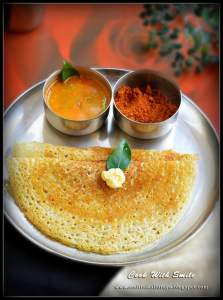 LADY'S FINGER DOSA recipe