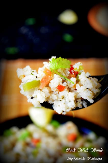 how to do little millet upma