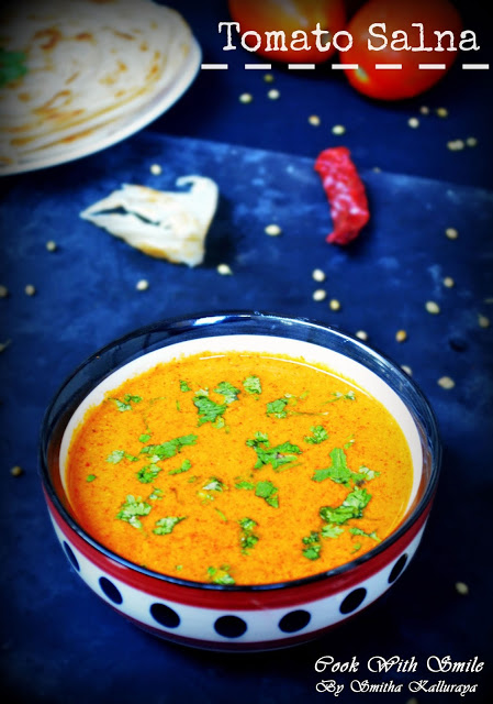 Tomato salna plain salna recipe parotta salna cook with smile salna is a delicious accompaniment served with parotta in hotels of tamil nadu it is spicy hot and bursting with flavors delicious salna with crispy forumfinder Images