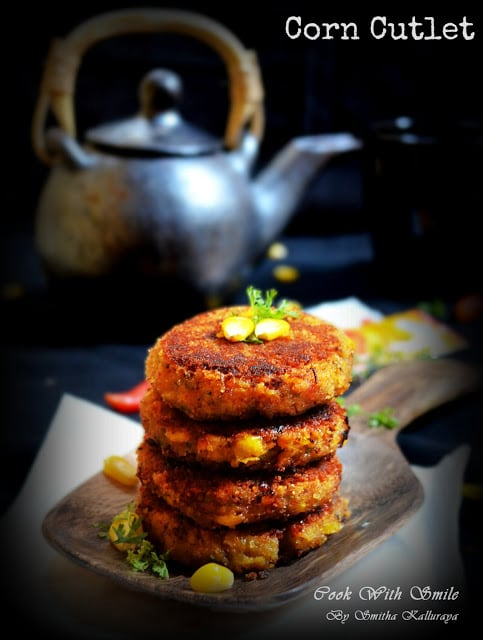 Corn tikki ,corn patties