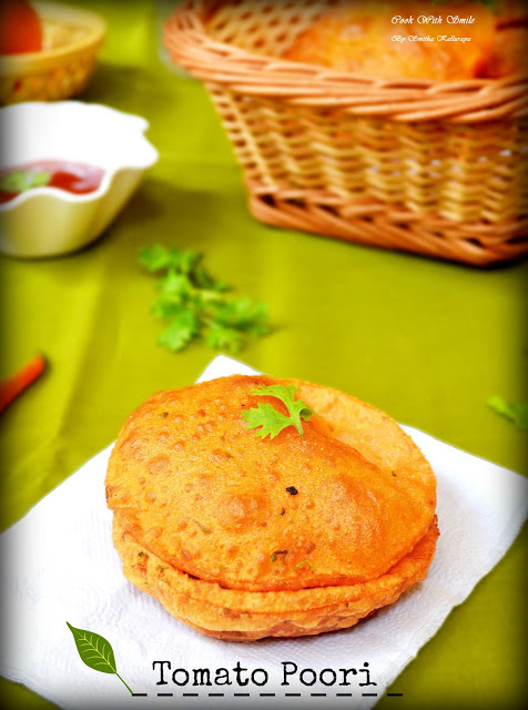 Tomato poori tomato masala puri indian travel recipes to eat and one of the best travel friendly recipes these tomato poori are perfect to mae if you are busy and have no time to mae any side dish forumfinder Image collections