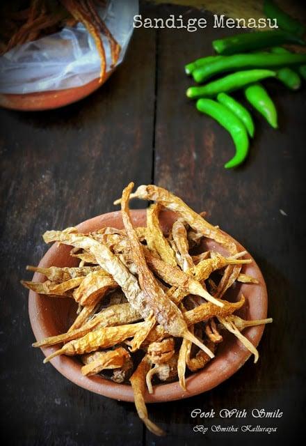 simple recipe for mor milagai