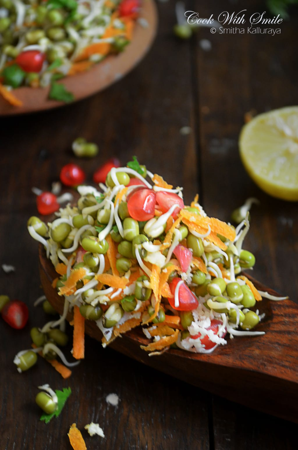 moong sprouted salad