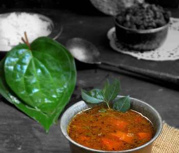 betel leaves rasam recipe