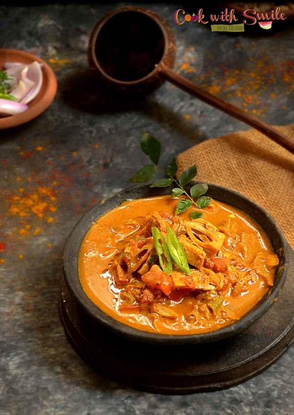 raw jackfruit curry
