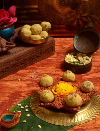 roasted gram laddu recipe