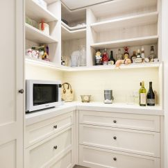 Melamine Kitchen Cabinets Hells Apartments Modern White - Toorak