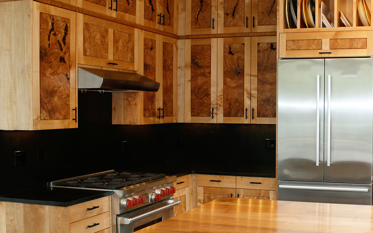 custom made kitchen cabinets led strip lights in craftsman | bellingham ...