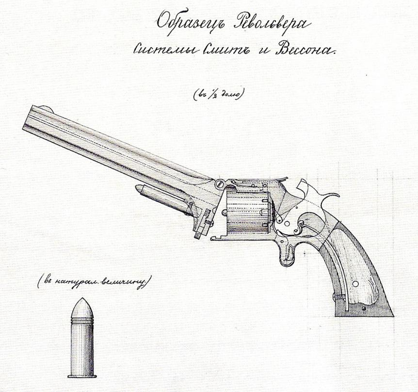 An Early Russian Smith & Wesson