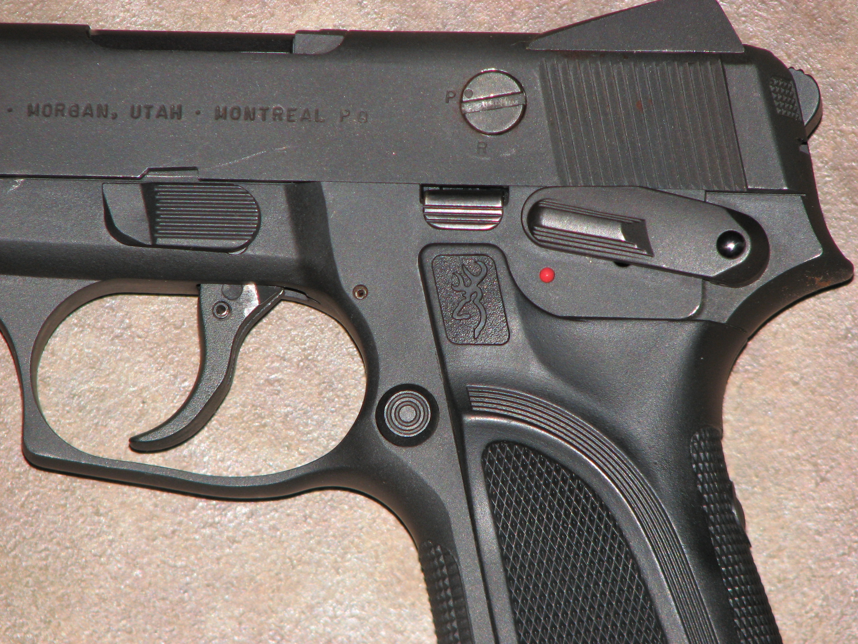 browning 9 mm should