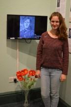 Tina Flöhr, Germany, Erasmus Intern, Exhibition production project on World War 1