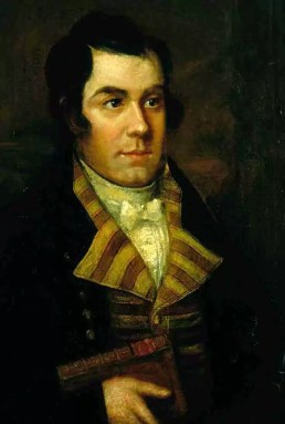 Robert Burns, artist unknown