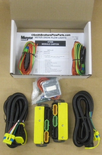 western snow plow parts diagram pots line wiring 07548 meyer nite saber headlight modules (07347) kit