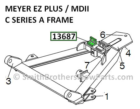 M13687 Spring Clip (Chain Connector) For EZ Plus and MDII