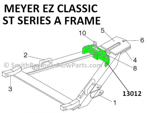 Sector Release Bracket for ST A Frame (EZ Classic / Custom