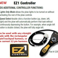 Meyer Home Plow Wiring Diagram 2008 Club Car Precedent Battery Ez 1 Pistol Grip Controller, M22690dc