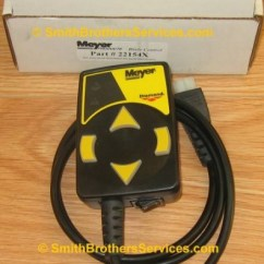 Western Plow Controller Wiring Diagram Boat Trailer Light Meyer Touchpad (membrane Switch) With Harness