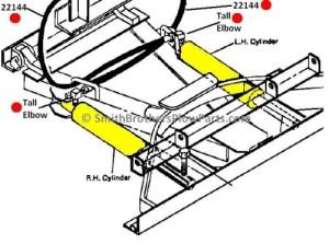 Genuine Meyer Hose Kit for Meyer E47  E60  $12900