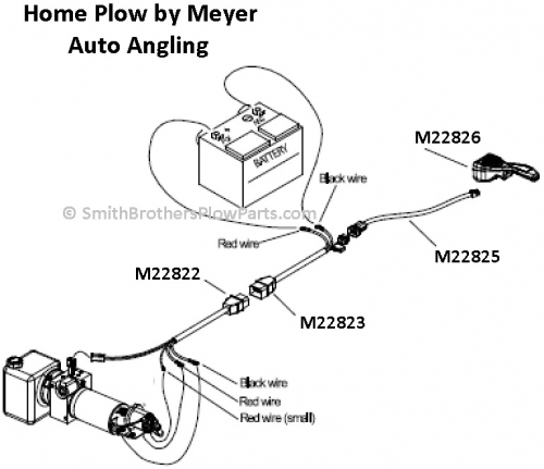 Meyer Home Plow Wiring Harness