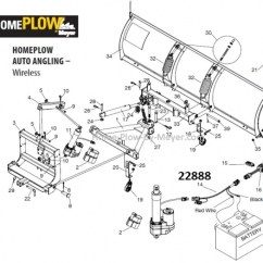 Meyer Home Plow Wiring Diagram Deutz F3l1011 Alternator Electric Actuator Harness By (wireless). 22888 Number 14 On The Diagram.