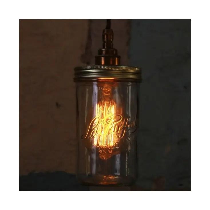 kitchen drum light rental jam jar pendant lights, unusual unique lighting from our ...