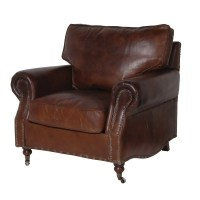 Vintage Leather Armchair - Smithers of Stamford