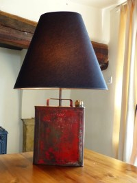 Guy Trench Lamp, Made on the money for nothing tv show