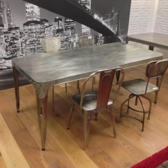 Industrial Dining Table And Chairs Eero Saarinen Tulip Chair Looking For Aviation Tables You Have Come To The Right Place