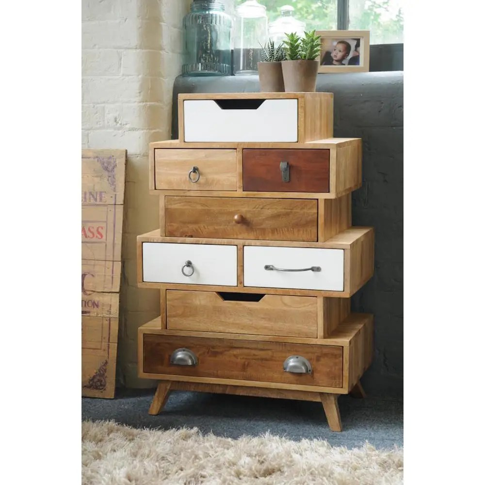 cherry dining chairs used lift vintage stacked storage chest of drawers | living room bedroom