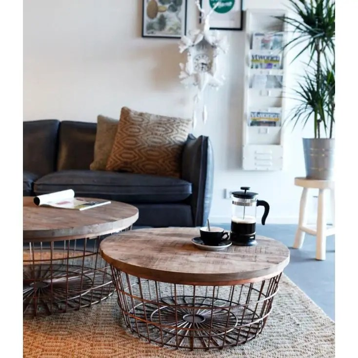 side tables living room uk grey rugs copper wire coffee table • vintage & retro designer