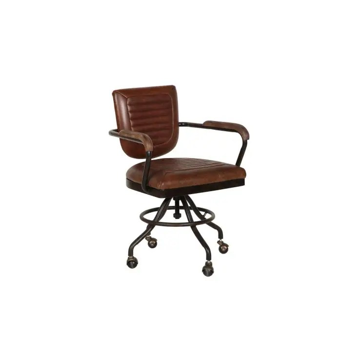 office chair uk cool chairs aviation aviator industrial tan leather swivel furniture smithers of stamford 650 00 store us