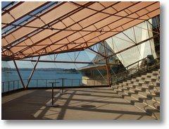 Interior, looking out picture - Sydney Opera House