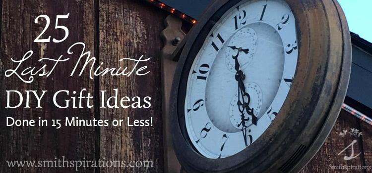 25 Last Minute Gift Ideas