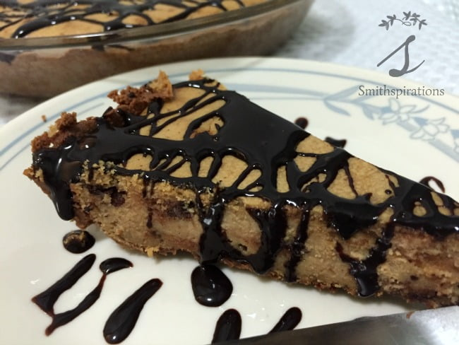 PB Choco Chip Pie close up