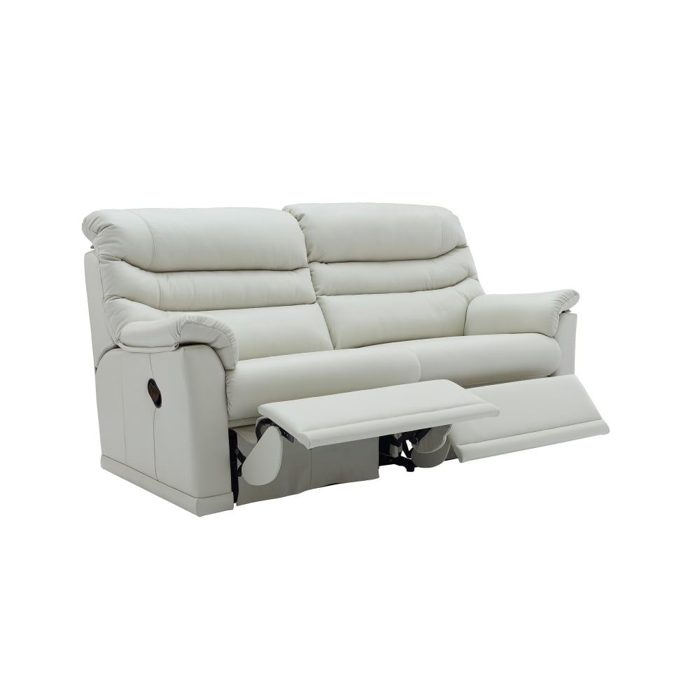 electric recliner leather sofas uk modern sofa tables with storage g plan malvern 3 seater 2 seat cushions