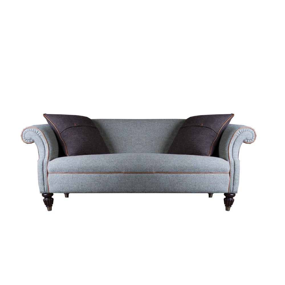 harris tweed bowmore midi sofa best rated sectional sofas tetrad 2 seater