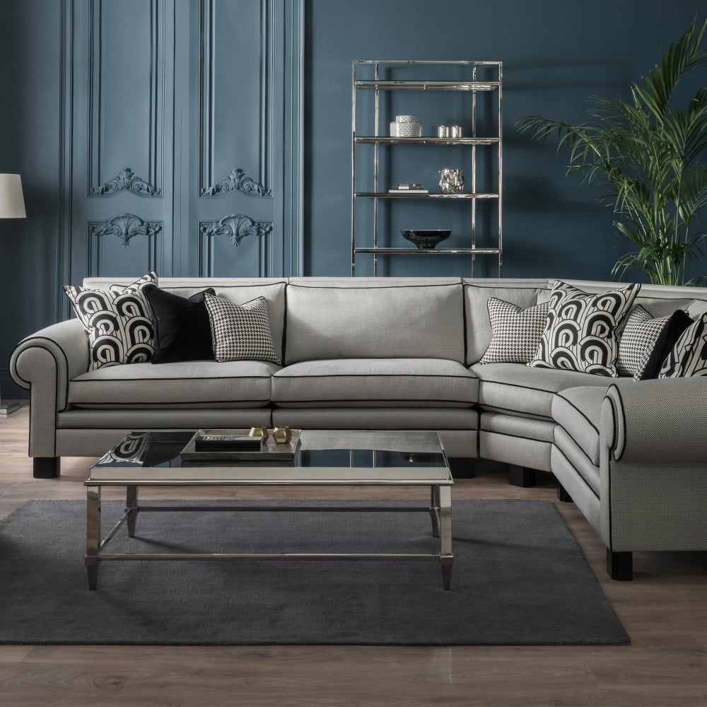 duck feather corner sofa how to clean fabric stains duresta coco configuration 1 at smiths the rink harrogate