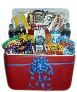Candy free easter basket ideas smithtown today instead of chocolates and generic overpriced junk from chain stores load up a new cooler toolbox or tin beer bucket with your husbands favorite things negle Image collections