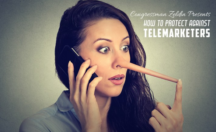 zeldin how to avoid telemarketers scams