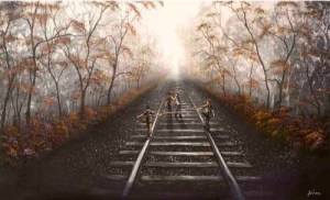 Following The Right Track By Danny Abrahams