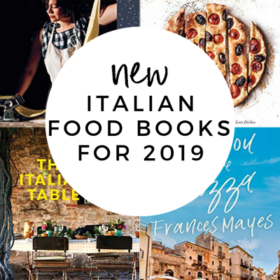 Must Have New Italian Food Books