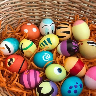 Designing Easter Eggs With Character