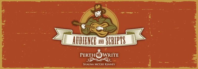 Copywriting audience and scripts banner