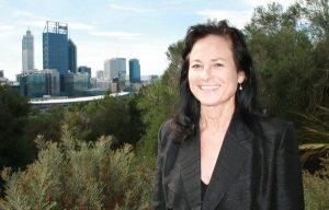 Penny West in Kings Park Western Australia