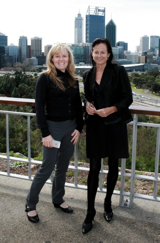 Shauna McGee Kinney and Penny West - Perth Australia